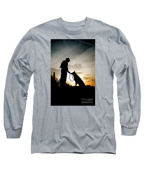 Boy And His Dog Long Sleeve T-Shirt