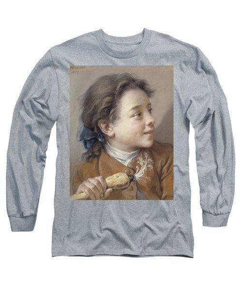 Boy With A Carrot, 1738 Long Sleeve T-Shirt