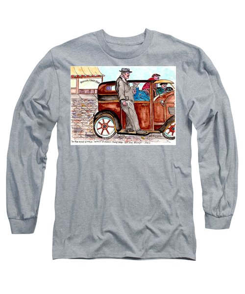 Bracco Candy Store - Window To Life As It Happened Long Sleeve T-Shirt