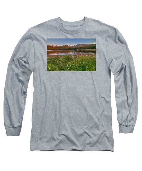 Long Sleeve T-Shirt featuring the photograph Brainard Lake by Gary Lengyel