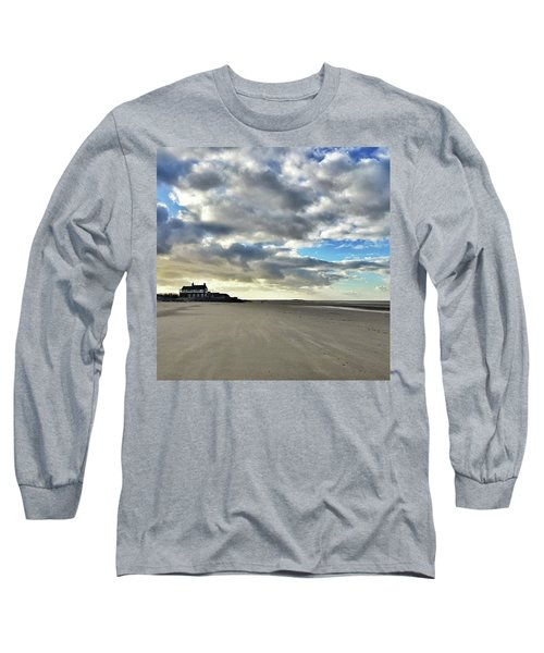 Brancaster Beach This Afternoon 9 Feb Long Sleeve T-Shirt