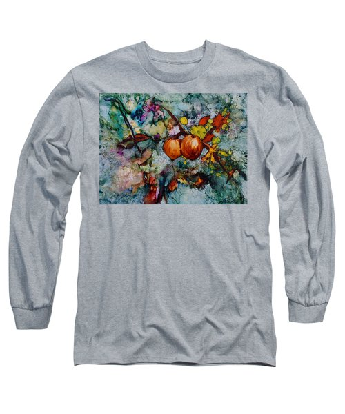 Branches Of Fruit Long Sleeve T-Shirt by Joanne Smoley