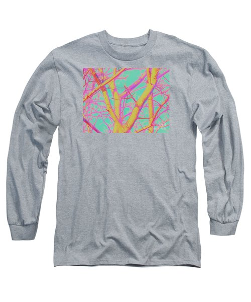 Long Sleeve T-Shirt featuring the photograph Branching Out 2 by Shirley Moravec