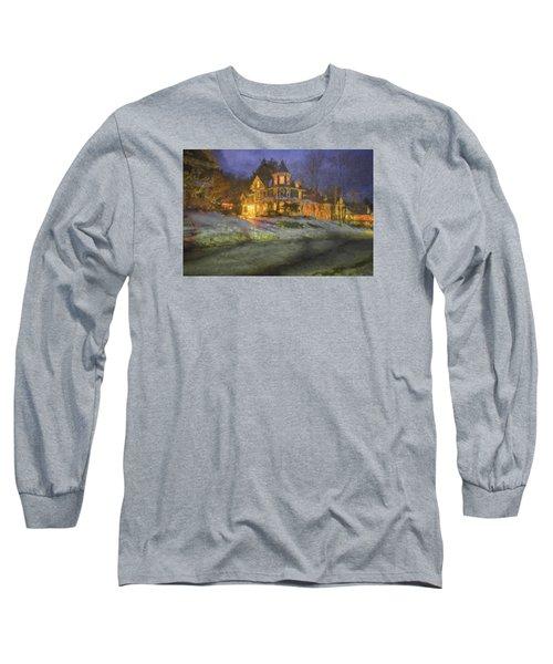 Brattleboro Victorian II Long Sleeve T-Shirt by Tom Singleton