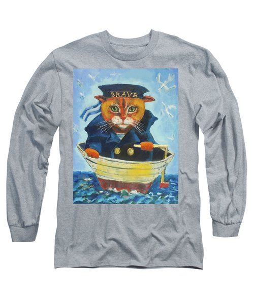 Brave Long Sleeve T-Shirt by Maxim Komissarchik