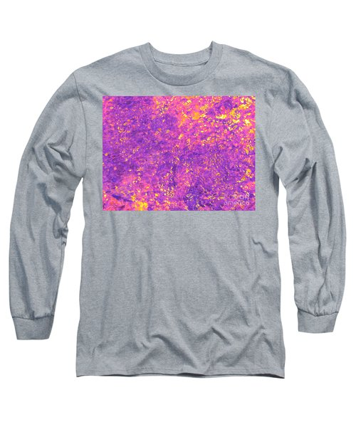 Break Through - Abstract Light Long Sleeve T-Shirt