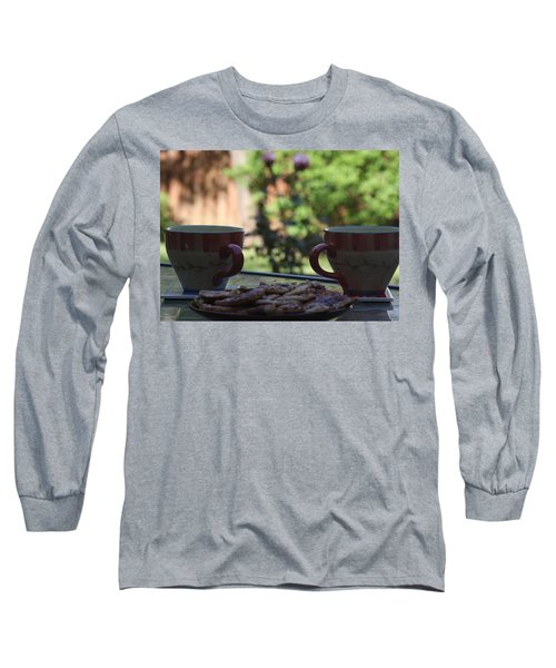 Long Sleeve T-Shirt featuring the photograph Breakfast Time by Vadim Levin