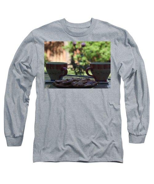 Breakfast Time Long Sleeve T-Shirt