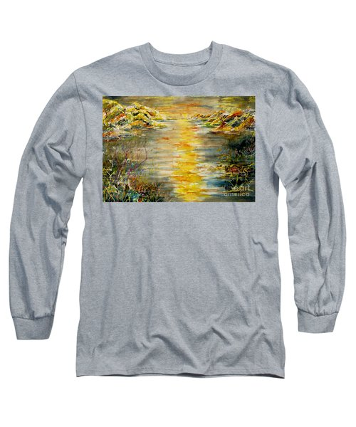 New Horizons Long Sleeve T-Shirt by Alfred Motzer