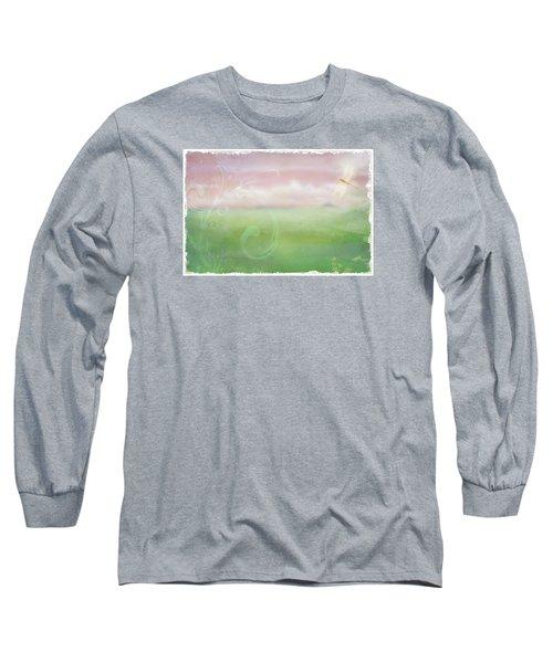 Long Sleeve T-Shirt featuring the digital art Breath Of Spring by Christina Lihani