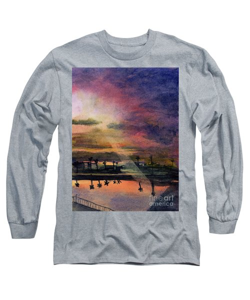 Brenda's Bay Long Sleeve T-Shirt by Randy Sprout