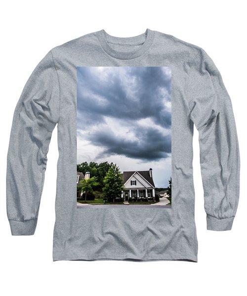 Brewing Clouds Long Sleeve T-Shirt