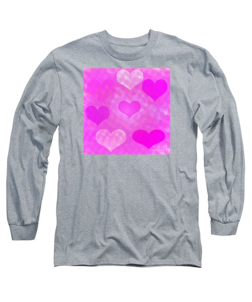 Brick Hearts Long Sleeve T-Shirt
