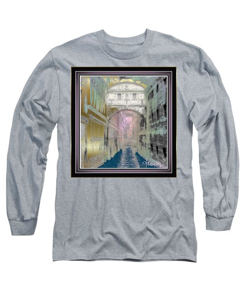 Bridge Of Sighs Long Sleeve T-Shirt