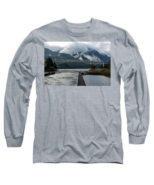 Bridge Of The Gods Long Sleeve T-Shirt