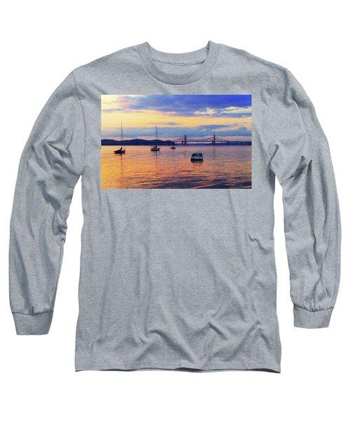 Bridge Sunset Long Sleeve T-Shirt