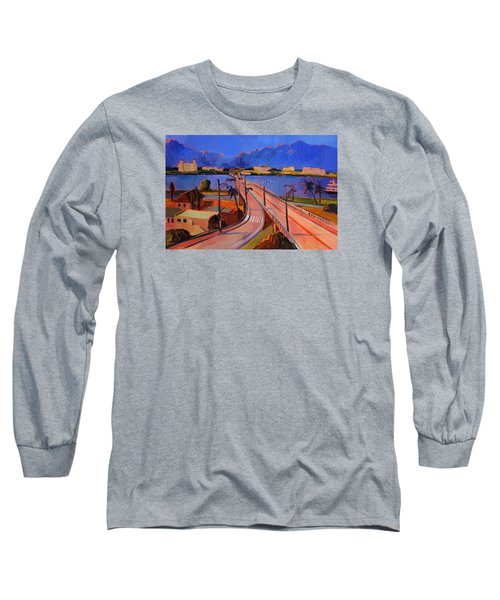 Bridge To Palm Beach Long Sleeve T-Shirt
