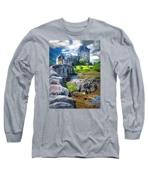 Bridge To The Castle Long Sleeve T-Shirt
