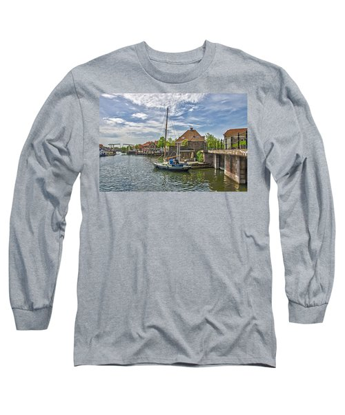 Brielle Harbour Long Sleeve T-Shirt by Frans Blok