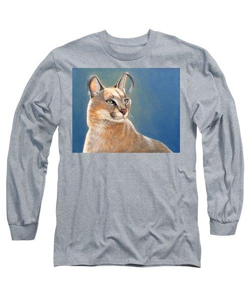 Bright Eyes - Caracal Long Sleeve T-Shirt