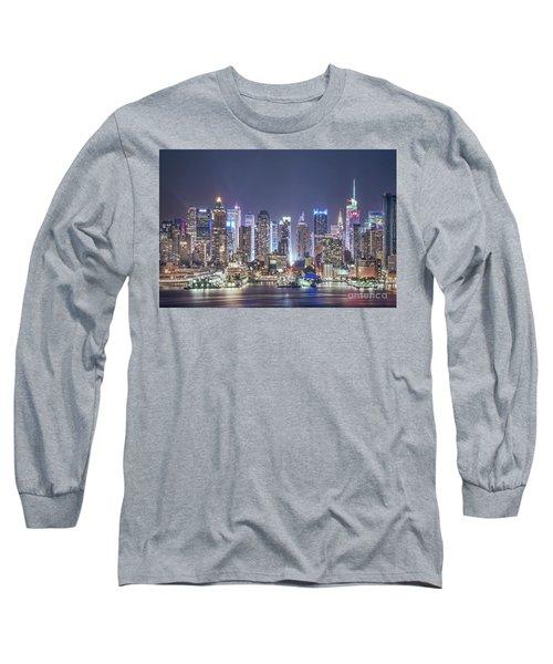 Bright Nights Long Sleeve T-Shirt