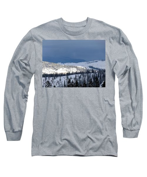 Long Sleeve T-Shirt featuring the photograph Bright Patch Of Sunshine by Will Borden