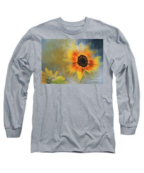 Brighter Than Sunshine Long Sleeve T-Shirt by Eva Lechner