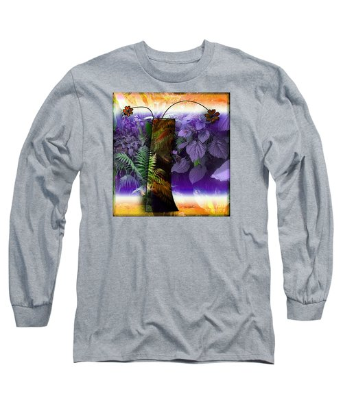 Bring Wonderland Home Long Sleeve T-Shirt by Iris Gelbart