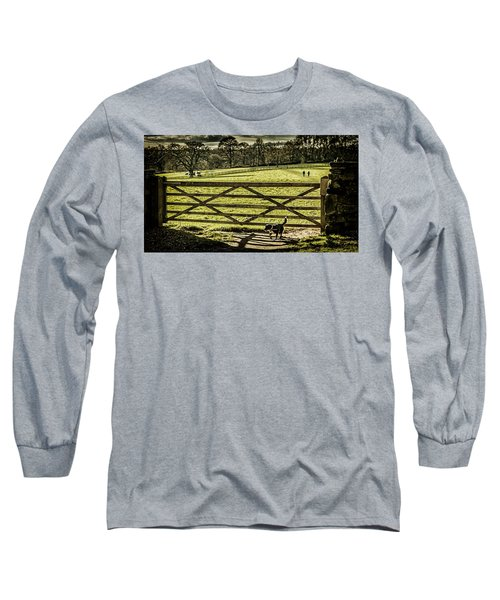 Long Sleeve T-Shirt featuring the photograph Bringing It Back by Nick Bywater