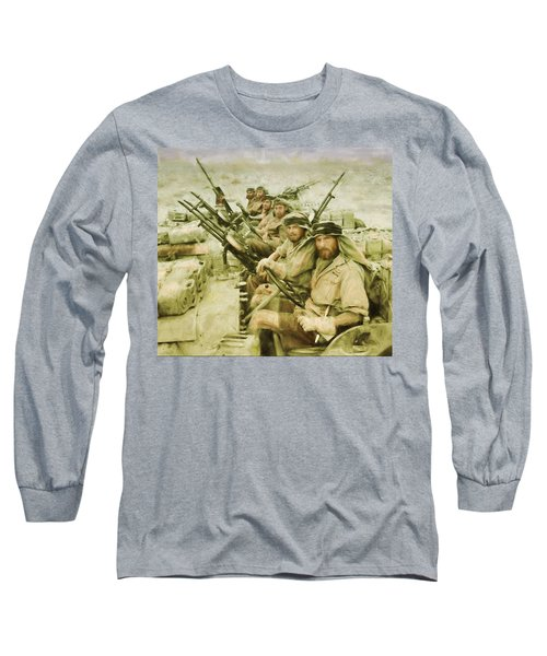 British Sas Long Sleeve T-Shirt by Michael Cleere