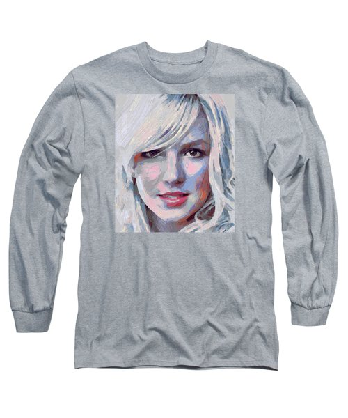 Britney Spears Portrait Long Sleeve T-Shirt