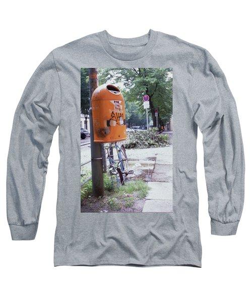 Broken Bike In Berlin Long Sleeve T-Shirt