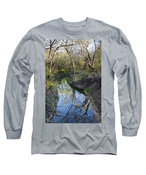 Broken Branch Creek Long Sleeve T-Shirt by Ricky Dean