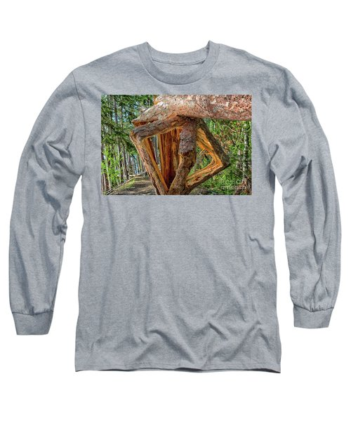 Broken In The Forest Long Sleeve T-Shirt