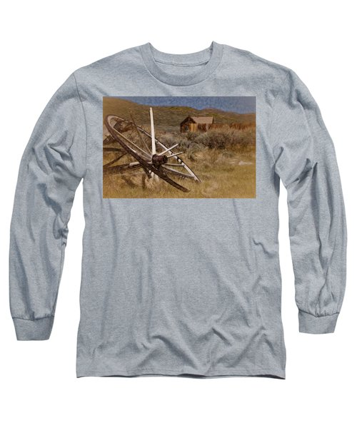 Long Sleeve T-Shirt featuring the photograph Broken Spokes by Lana Trussell