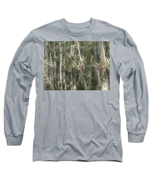 Bromeliads On Trees Long Sleeve T-Shirt