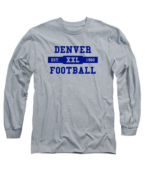 Broncos Retro Shirt Long Sleeve T-Shirt