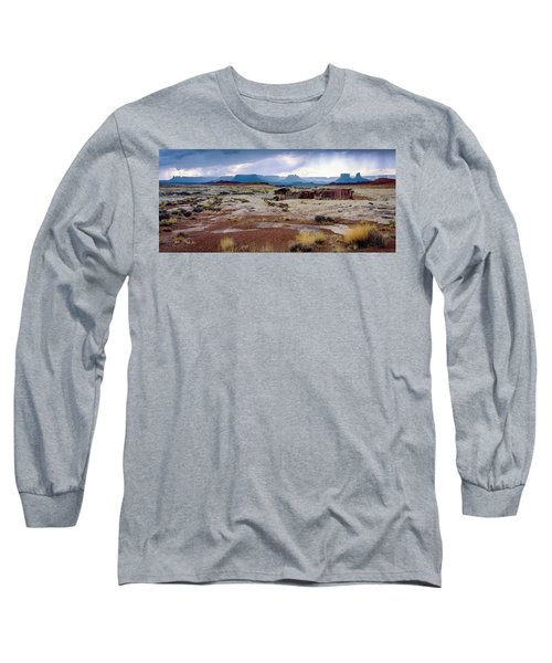 Brooding Sky Summer Storm Long Sleeve T-Shirt