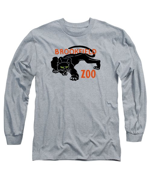 Brookfield Zoo Wpa Long Sleeve T-Shirt by War Is Hell Store