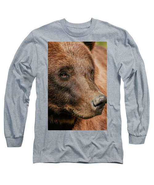 Brown Bear Long Sleeve T-Shirt