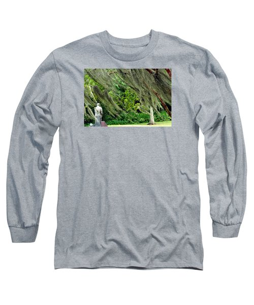 Long Sleeve T-Shirt featuring the photograph Brownwell Memorial Park by Helen Haw