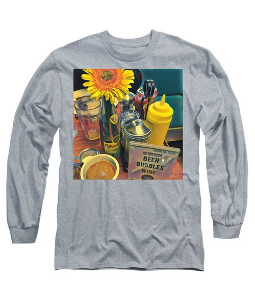 Brunch At Counter Cafe Long Sleeve T-Shirt