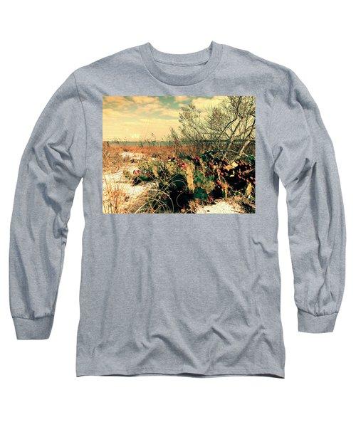 Brush Work Long Sleeve T-Shirt