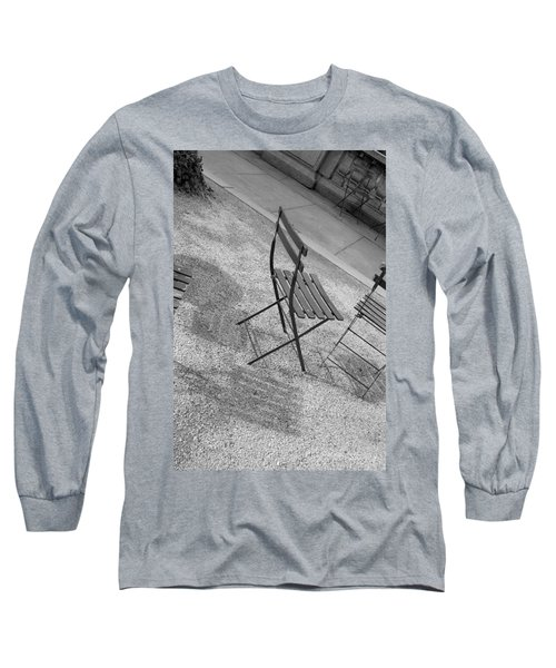Bryant Park Nyc Long Sleeve T-Shirt by Henri Irizarri