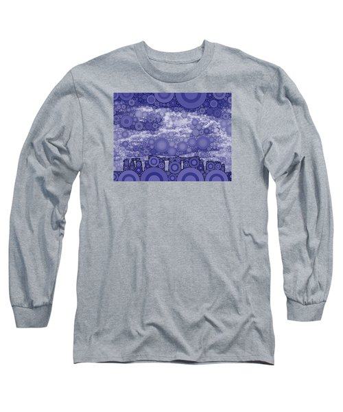 Bubble Art Stonehenge Long Sleeve T-Shirt