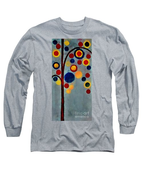 Bubble Tree - Dps02c02f - Right Long Sleeve T-Shirt by Variance Collections