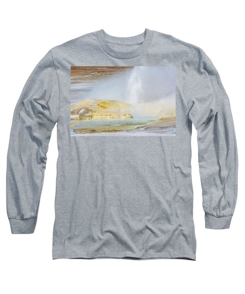 Long Sleeve T-Shirt featuring the photograph Bubbling Earth by Colleen Coccia