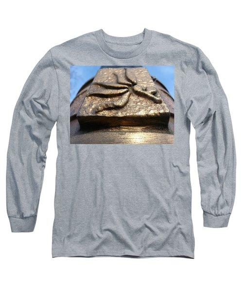 Buckeye Collar Long Sleeve T-Shirt