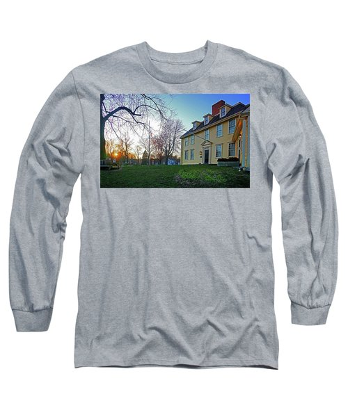 Buckman Tavern At Sunset Long Sleeve T-Shirt