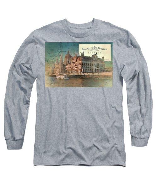 Budapest Fovaros Long Sleeve T-Shirt